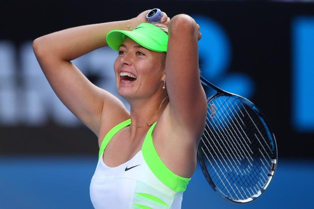 Australian Open 2012: Why Maria Sharapova Is a Lock to Win