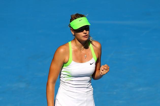 Australian Open 2012: Maria Sharapova, Victoria Azarenka, and Ranking Scenarios