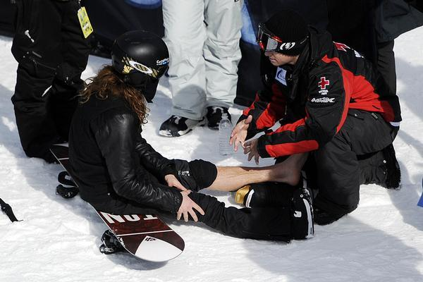 Shaun White: Ankle Injury Will Cost White in Slopestyle