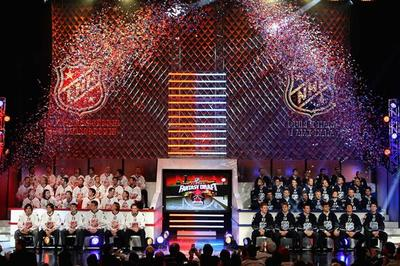 NHL All-Star Fantasy Draft: Kicked off the 2012 Festivities in Ottawa
