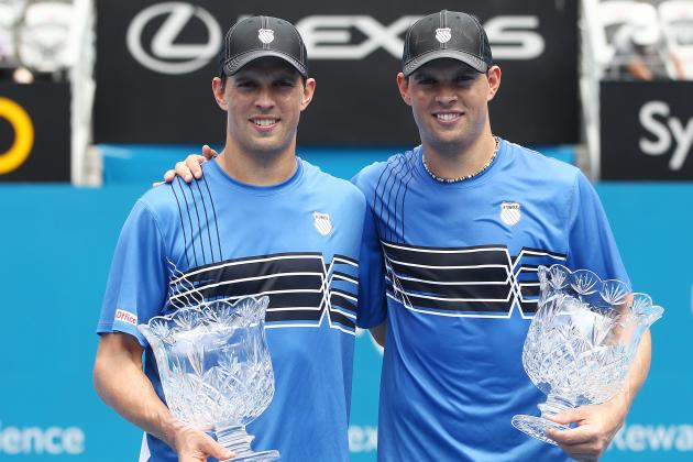 Australian Open 2012: Examining Bryan Brothers Legacy If They Win Doubles Finals