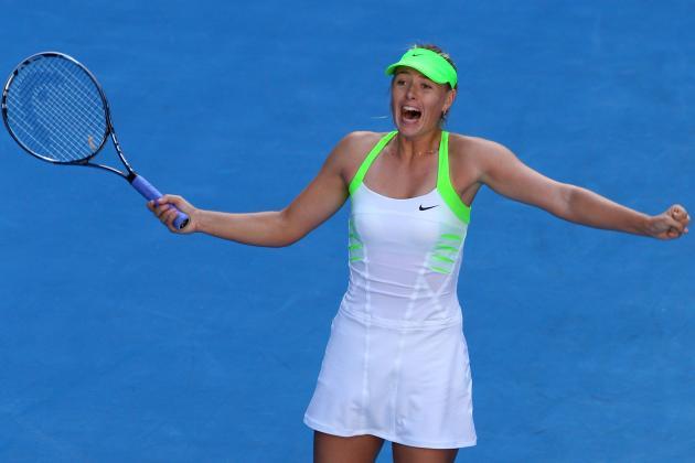 Australian Open 2012: Maria Sharapova's Experience Key Against Victoria Azarenka