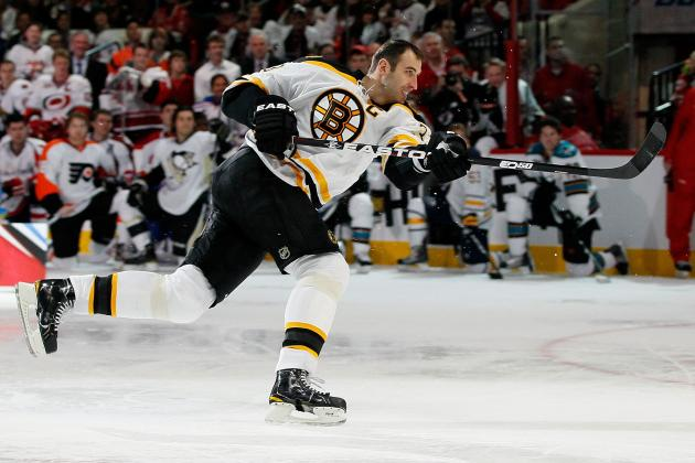 NHL Skills Competition 2012: Bruins' Zdeno Chara Will Win 5th Hardest Shot Title