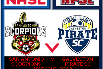 Clash of the Texans: Galveston Pirates Line Up San Antonio Scorpions Friendly