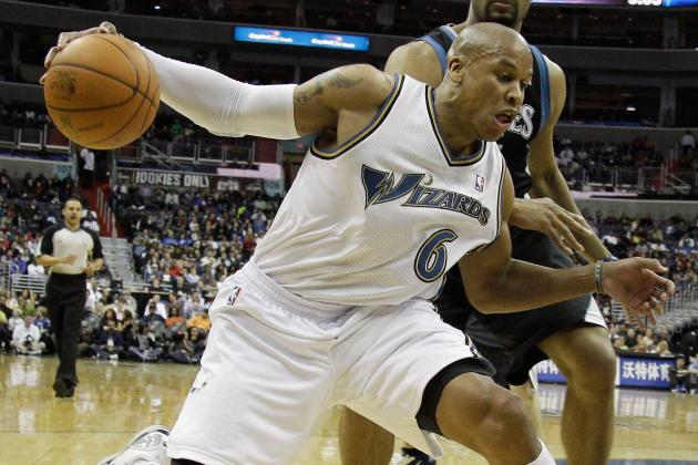 NBA Trade Rumors: Washington Wizards Should Unload Maurice Evans If They Can