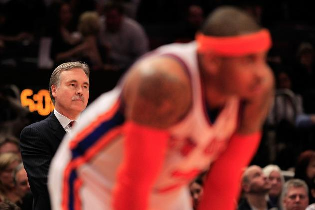Big Apple Blues: Is Mike D'Antoni to Blame for the New York Knicks' Struggles?