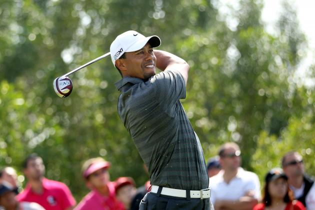 Abu Dhabi HSBC Golf Championship: Tiger Woods on the Lead After Round 3