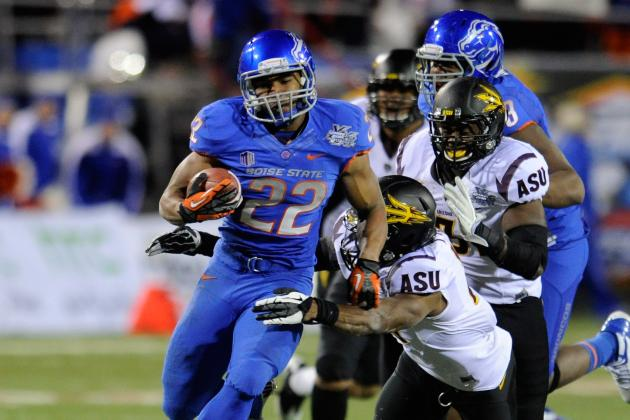 Doug Martin in Senior Bowl: Why the Ray Rice Clone Will Be the Draft's Best Back