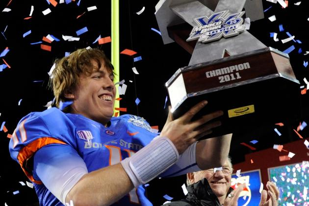 Senior Bowl 2012: Grading the Performance of Boise State's Kellen Moore