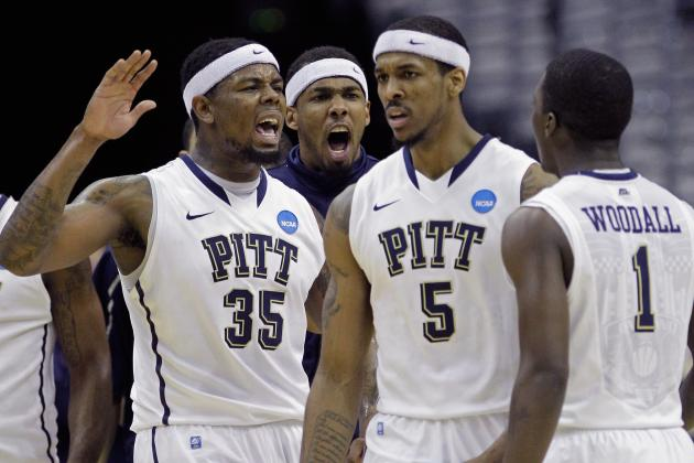 Pittsburgh Knocks off No. 10 Georgetown Without Need for Court Storming