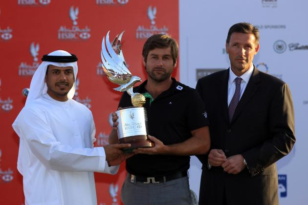 Robert Rock Outduels Tiger Woods for Win at Abu Dhabi HSBC Championship