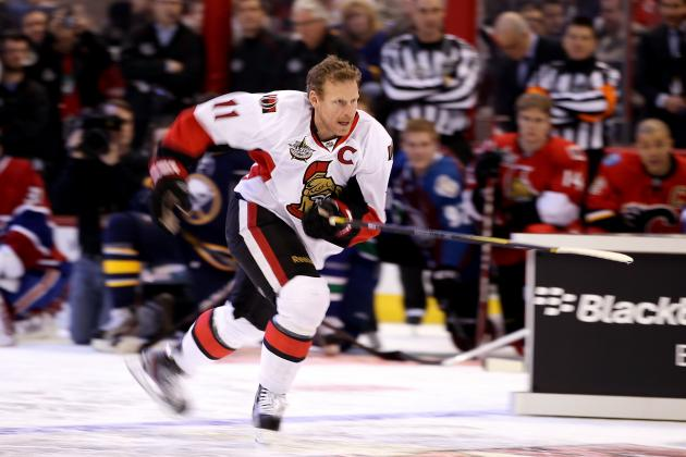 2012 NHL All-Star Game Roster: Strong Ottawa Contingent Favors Team Alfredsson