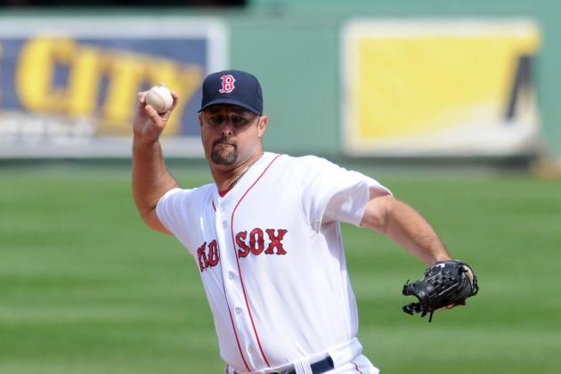 Boston Red Sox:  Tim Wakefield Isn't Looking Like a Bad Option After All