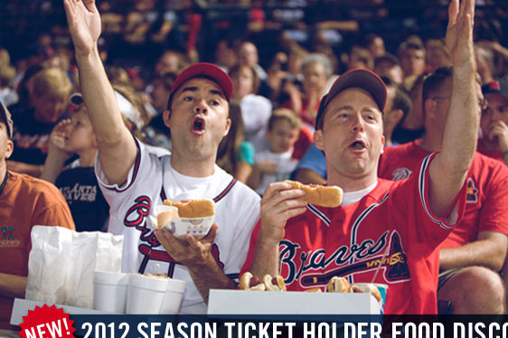 Atlanta Braves Offer Discounts at Concession Stands for Season-Ticket Holders