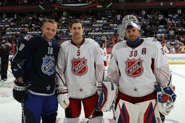 NHL All-Star Game 2012: Marian Gaborik Goal on Henrik Lundqvist Good for Rangers