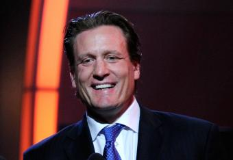 Jeremy Roenick at the NHL Awards Show in 2011