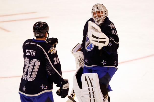 2012 NHL All-Star Game: Tim Thomas' Competitive Spirit Shines Again
