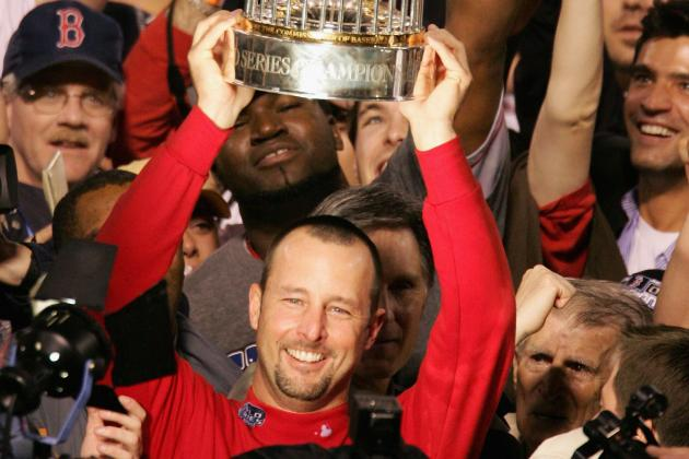 Tim Wakefield Waits for a Phone Ring That May Never Come from Boston Red sox