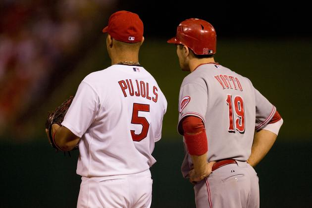 Albert Pujols' and Prince Fielder's Huge Contracts Mean Big Money to Joey Votto?