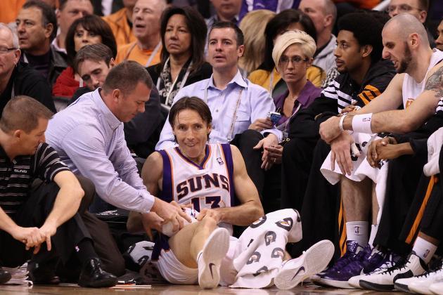 Suns vs. Mavericks: Steve Nash Questionable for Phoenix's Matchup Against Dallas