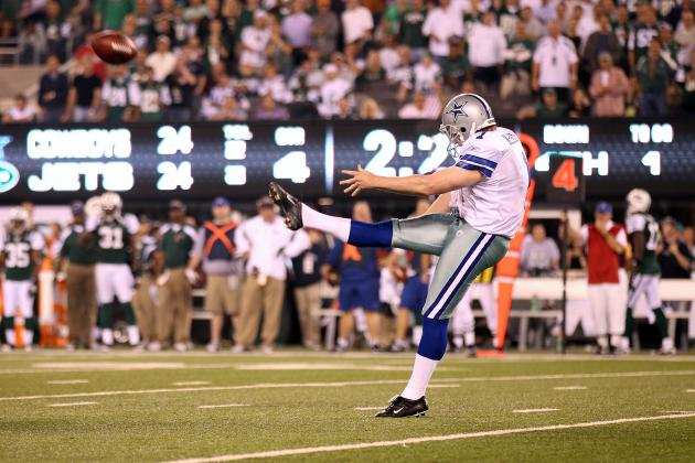 Mat McBriar Injury: Will Dallas Cowboys Re-Sign Punter Despite Cyst?