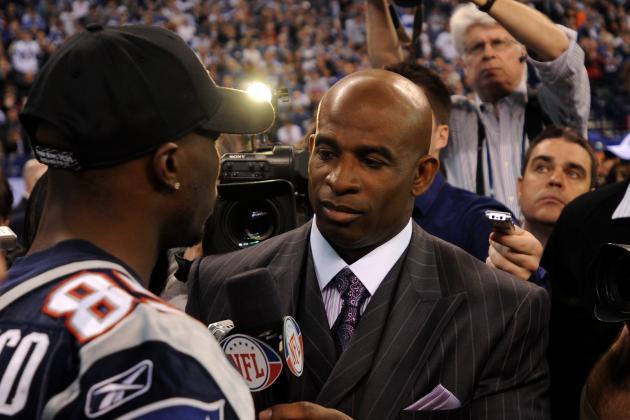 Super Bowl Media Day Winner? Not Tom Brady or Eli Manning. It Was Deion Sanders