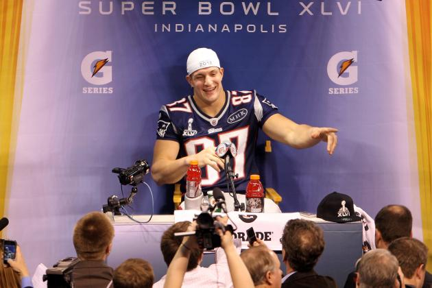 Super Bowl 2012: New England Patriots Mentally Suited for Rob Gronkowski Loss