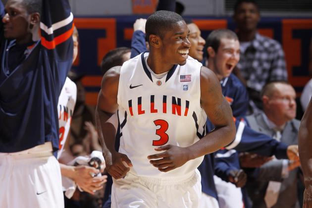 College Basketball: Illinois Knocks off Michigan State in Defensive Clinic