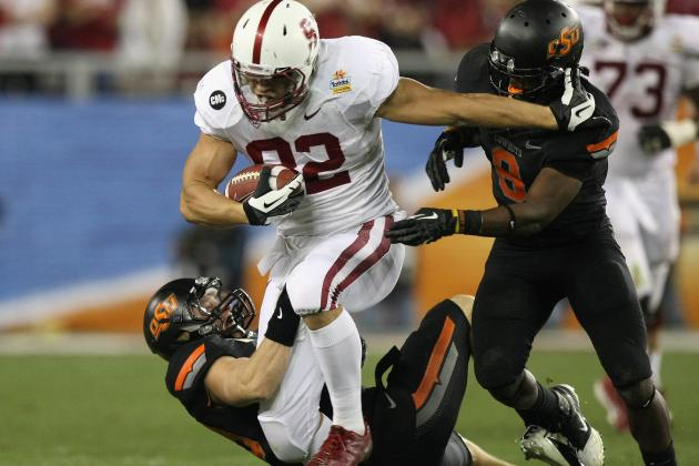 Atlanta Falcons 2012 NFL Draft: Will Coby Fleener Be Their First Draft Pick?