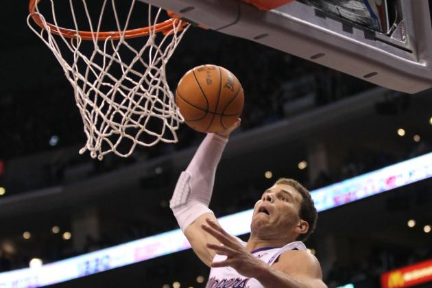LA Clippers Blake Griffin's Posterizing NBA Dunk over OKC'S Kendrick Perkins