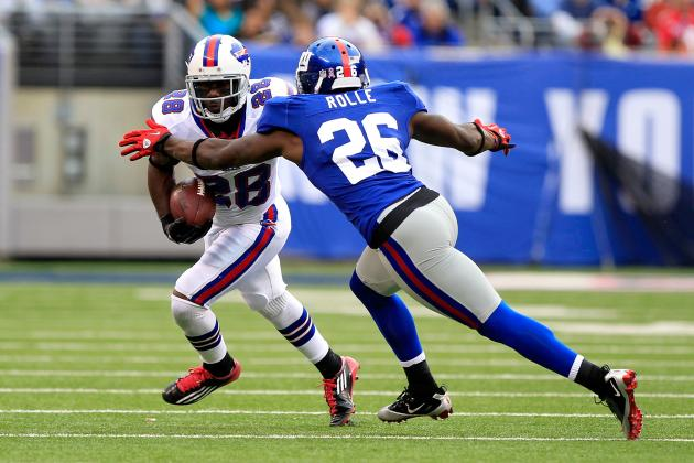 Giants vs. Patriots: How Effective Will Antrel Rolle Be in Stopping Wes Welker?