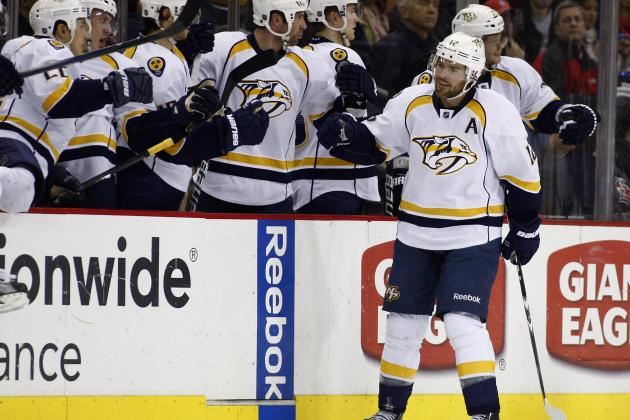 Nashville Predators Score 3 Goals in Final 3 Minutes to Beat Minnesota Wild 5-4