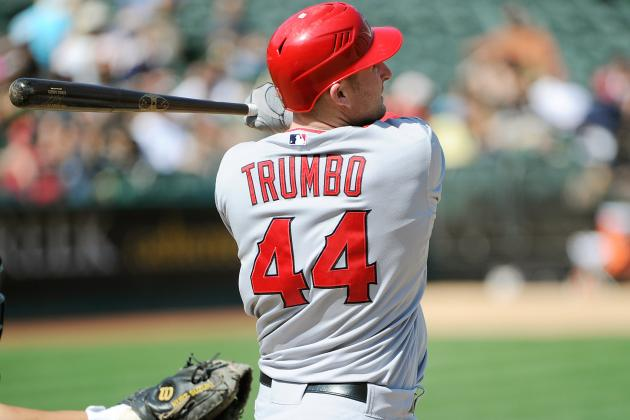 Should the L.A. Angels Trade Mark Trumbo?