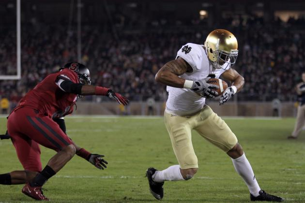 2012 NFL Draft: Notre Dame Fighting Irish's Michael Floyd and the Chicago Bears