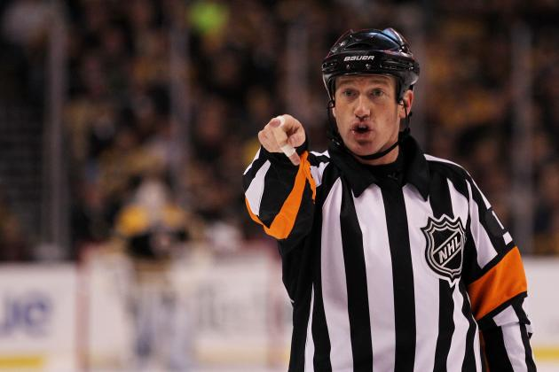 NHL Referee Injured by Shot to Face: Is It Time for Mandatory Visors in Hockey?