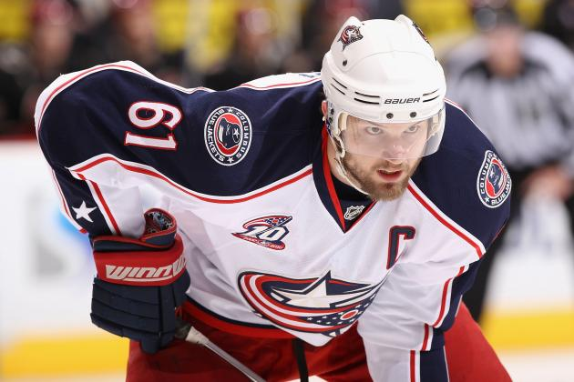 NHL Trade Rumors: Why Rick Nash to Toronto Maple Leafs Deal is a Pipe Dream
