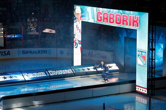 Marian Gaborik Grabs the Spotlight at NHL All-Star Game