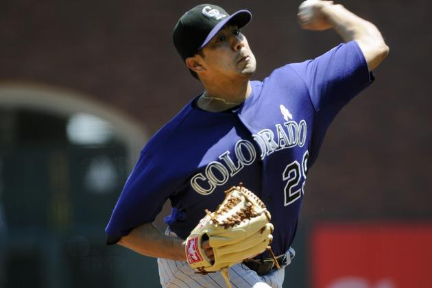 Rockies Playing It Safe with De La Rosa