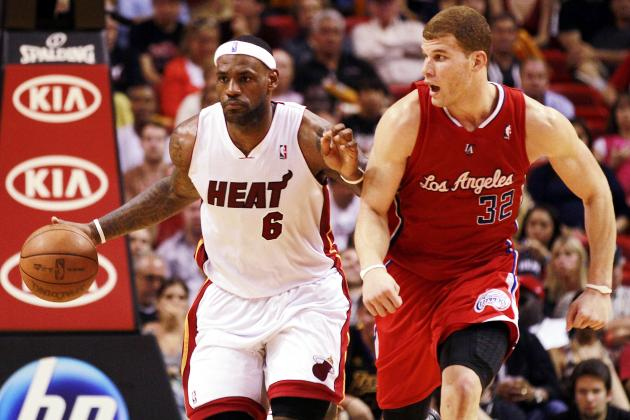 NBA Jam: Why LeBron James' Dunk Is Better Than Blake Griffin's