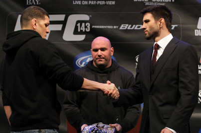 UFC 143 Fight Card: GSP vs. Diaz Talk Spoiling Potential Matchup of the Year