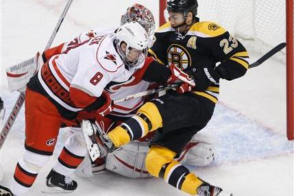 Boston Bruins Drop Fourth Straight to Canes, Southeast Woes Continue