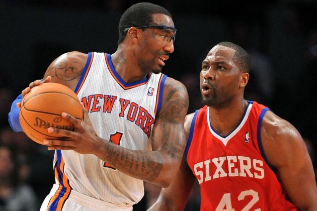 NBA Trade Rumors: Knicks Shouldn't Even Think About Trading Stoudemire