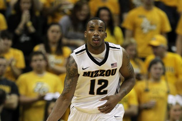 Big 12 Basketball: No. 8 Kansas vs. No. 4 Missouri Game Preview and Prediction