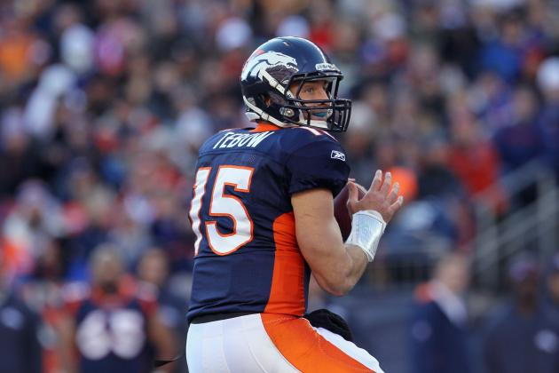 Why Tim Tebow's Completion Percentage Might Not Be as Bad as You'd Think