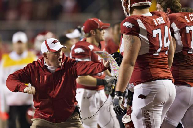 Arkansas Football: Bobby Petrino Needs to Change for the Hogs to Succeed