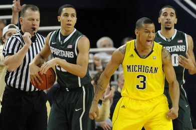 Big Ten Basketball: No. 22 Michigan vs. No. 10 Michigan State