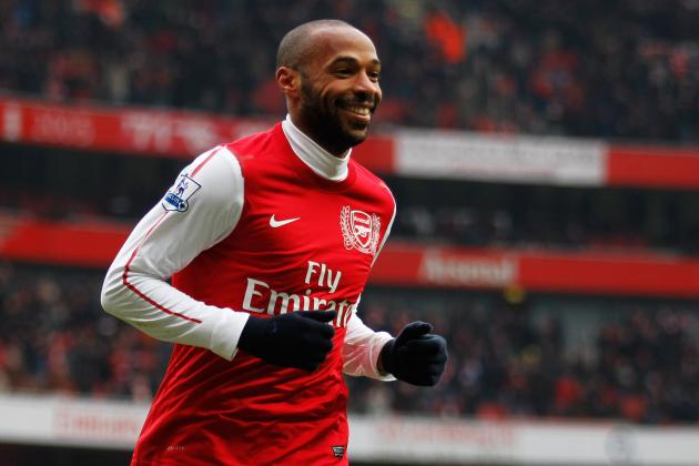 Arsenal Looking to Extend Thierry Henry Loan