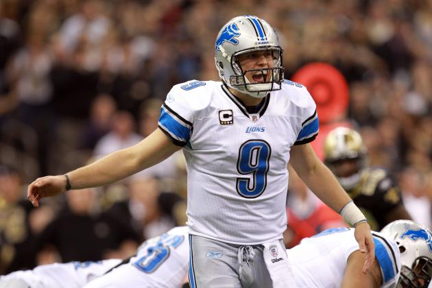 Lions QB Matthew Stafford Earns 2012 NFL Comeback Player of the Year Honors