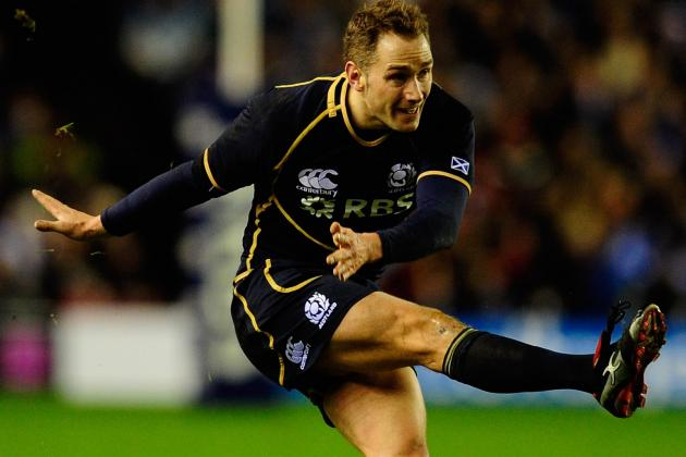 2012 Six Nations: Scotland's Dan Parks Has Difficult Road Ahead