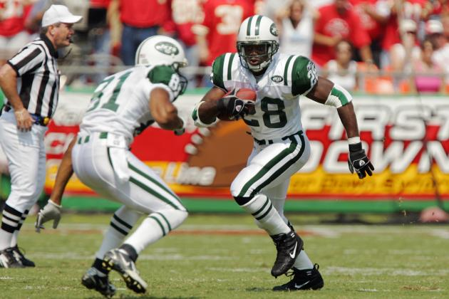 Curtis Martin Elected to NFL Hall of Fame on 2nd Try